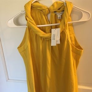 Small banana republic tank NWT
